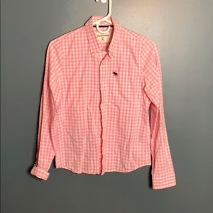 Abercrombie gingham dress shirt